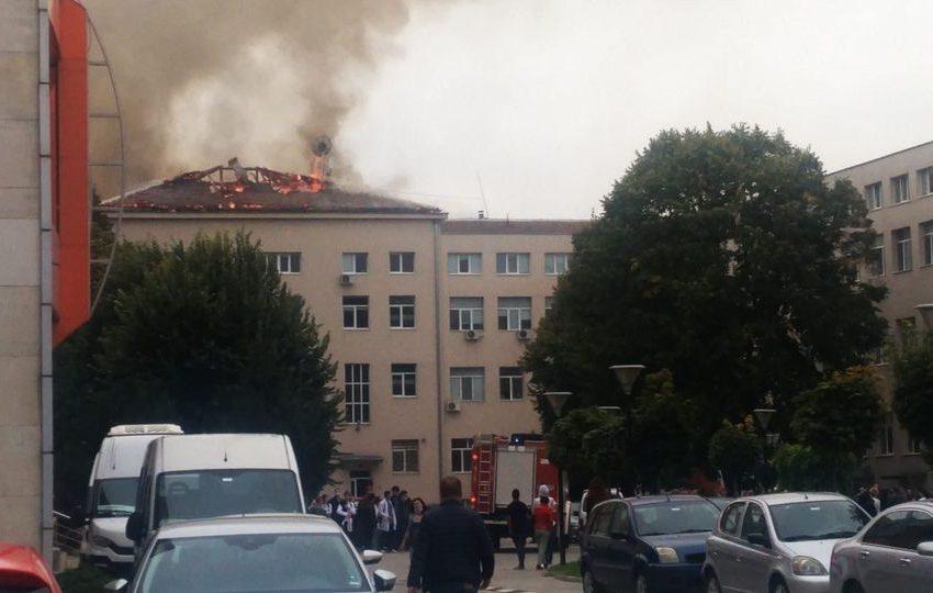 В МУ-Плевен обучението преминава онлайн заради вчерашния пожар